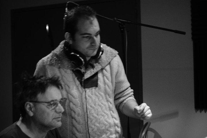 En studio en 2011